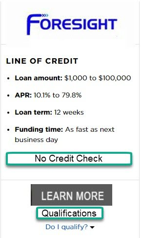 Business Credit Line